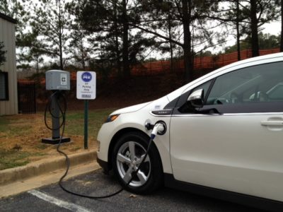 electric car power grid