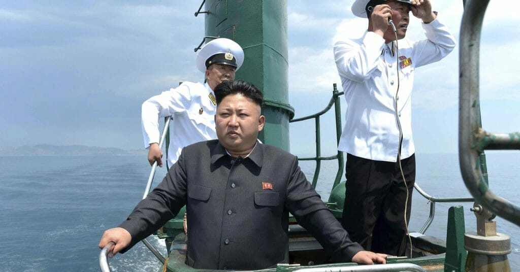 North Korea Quietly Testing Submarine Nuclear Missile System In 'Highly Unusual' Activity