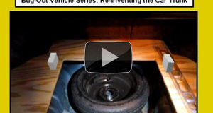 Bug Out Vehicle – Re-Inventing the Car Trunk