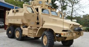US Military Equipping Local Police With War-Zone Armored Vehicles