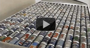 How to Heat Your Home Using Aluminum Cans