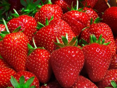 strawberries -- istock