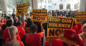 Movement Grows To Ban Gun Use In Your Home