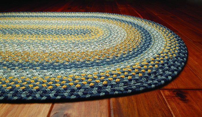 How To Make A Beginner S Braided Rug From Old Warn Out Fabric