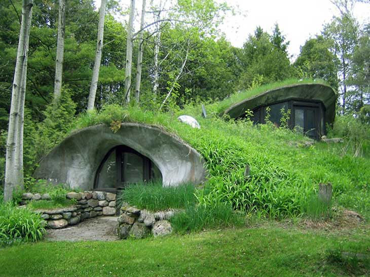 Underground houses the ultimate in off grid living off for Living off the grid house plans
