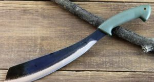The World's Best 'Survival Knife' For Clearing Brush, Cutting Firewood And Even Carving