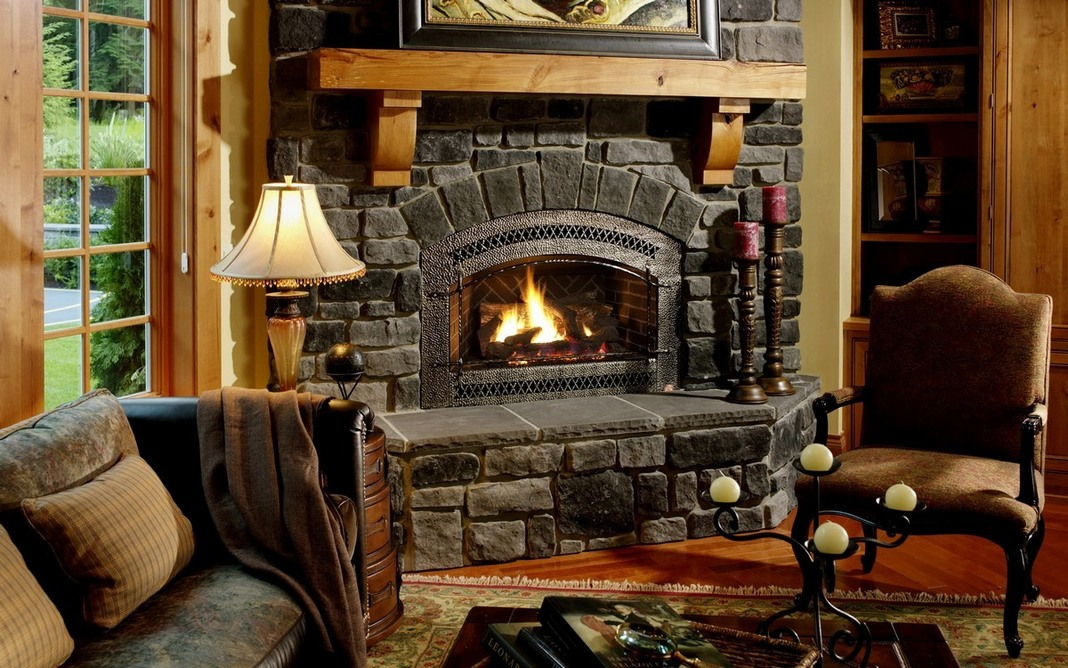 The First Steps In Building An All Natural Stone Fireplace Off The