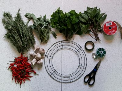 How to Make An Attention-Grabbing, Festive Culinary Wreath