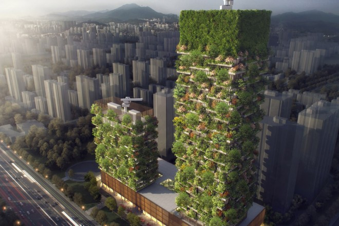 China's Agenda 21 Sparks 'Vertical Forests' – Skyscrapers With 3,000 Trees & Shrubs